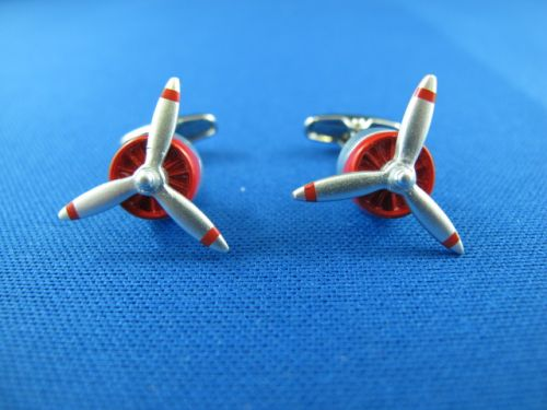 Cufflinks -Prop Red