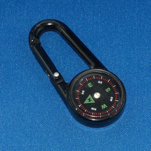 Keyring - Compass Carabiner