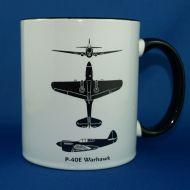 P-40 Spotter Mug