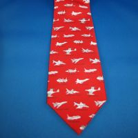 Tie - US Fighter Jets Red