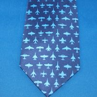 Tie - Aviation Navy