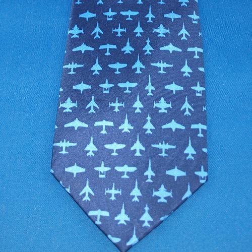 Tie - Aviation Navy