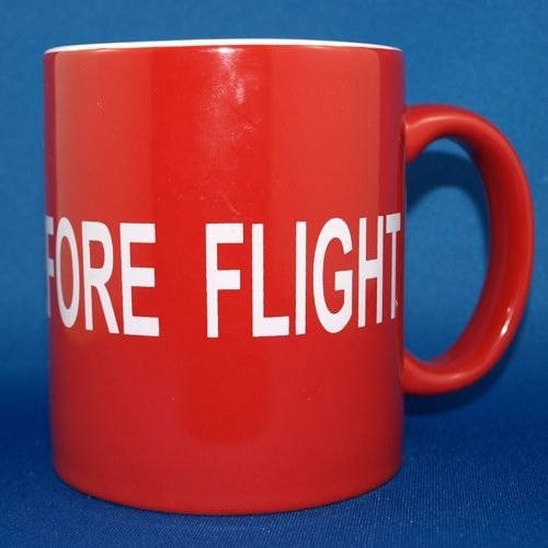 Remove Before Flight Coffee Mug