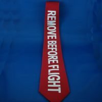 Tie - Remove Before Flight