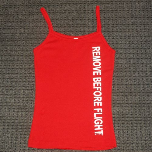Remove Before Flight Singlet