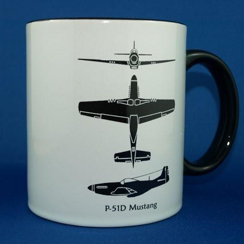P-51 Spotter Mug