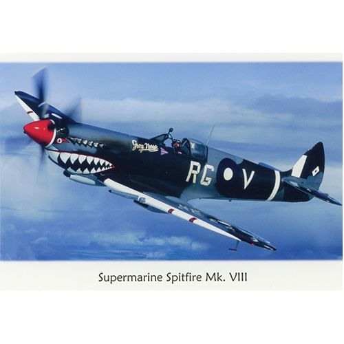 Postcard - Spitfire Mk VIII