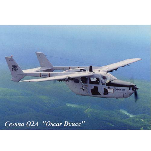 Postcard - Cessna O-2A