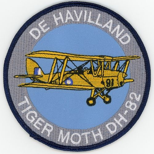 Patch - Tiger Moth