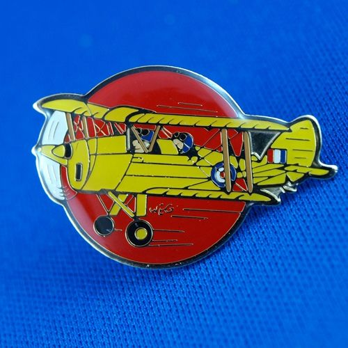 Tiger Moth Souvenir Badge