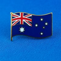 Australian Flag Souvenir Badge