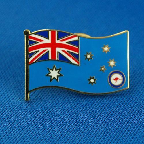 RAAF Flag Souvenir Badge