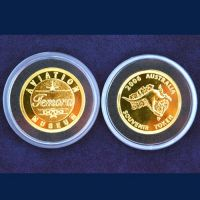 Temora Aviation Museum Souvenir Gold Coin