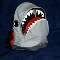 Shark Teeth Backpack Small
