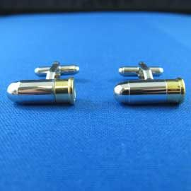 Cufflinks - Bullets