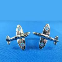 Cufflinks - Fighter Silver