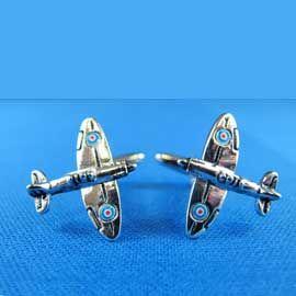 Cufflinks - Fighter Silver