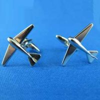 Cufflinks - Commercial Silver