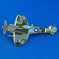 Spitfire Grey Nurse Souvenir Badge