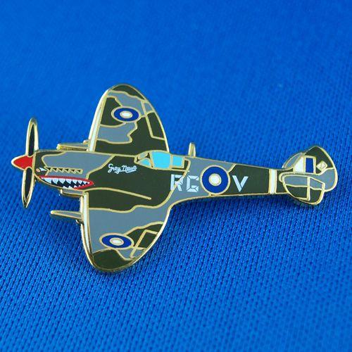 Spitfire Grey Nurse Souvenir Badge