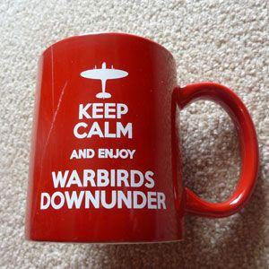 Keep Calm and enjoy Warbirds Downunder Mug
