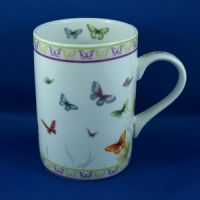 Butterfly Bone China Mug