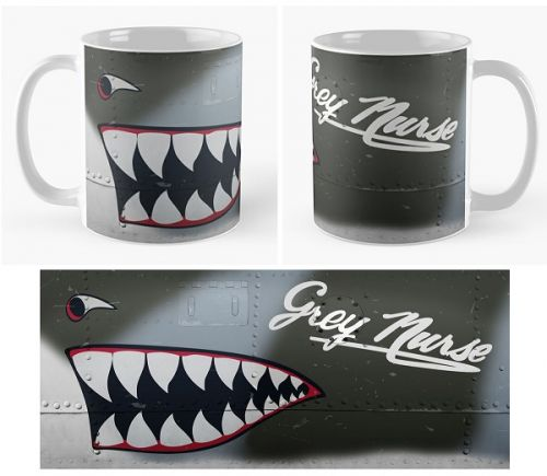 Grey Nurse Mug