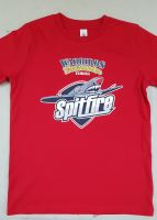 Kids Warbirds Spitfire T-Shirt Red