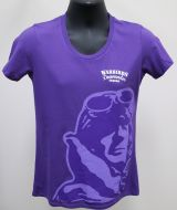 Ladies Purple Warbirds Downunder T-Shirt