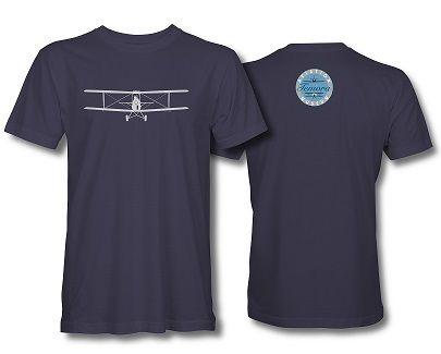 Tiger Moth T-Shirt Navy